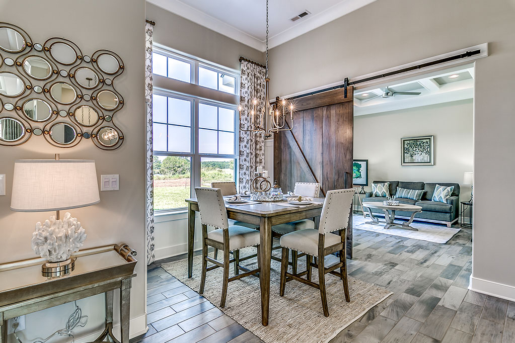 Furnished Model Home View Custom